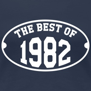 The Best of 1982 T-shirts - Dame premium T-shirt