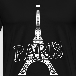 Paris T-shirts - Mannen Premium T-shirt