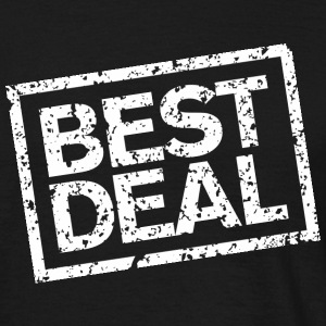 Best Deal (Weiß) T-Shirts - Men's T-Shirt