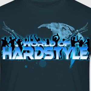 World of Hardstyle `Dance` - Männer T-Shirt