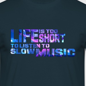 World of Hardstyle ´Life is too short´ - Männer T-Shirt