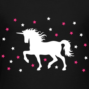 proud unicorn with stars stolt unicorn med stjerner T-shirts - Børne premium T-shirt