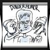 Tecknad DunderHumor (DAM) - Premium-T-shirt dam