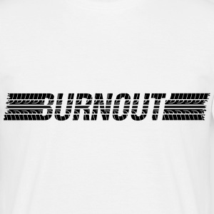 Dæk Burnout T-shirts - Herre-T-shirt