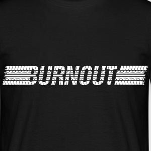 Tires Burnout  T-Shirts - Men's T-Shirt