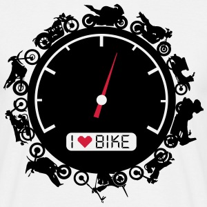 Biker circle with speedometer T-Shirts - Men's T-Shirt