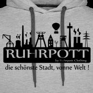 Motiv ~ Ruhrpott die schönste Stadt, vonne Welt! - Hoodie