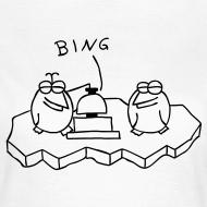 Motiv ~ Die Binguine - T-Shirt - Girlie (weiß)
