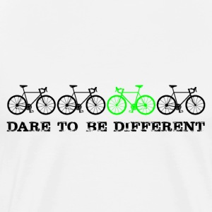 Dare to be different (schwarz) T-Shirts - Männer Premium T-Shirt