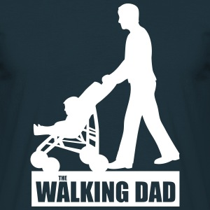 Walking Dad T-Shirts - Männer T-Shirt