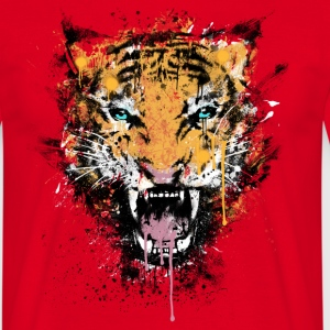 Dirty Tiger Rage T-Shirts - Men's T-Shirt