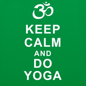 Keep calm and do YOGA Borse & zaini - Borsa di stoffa