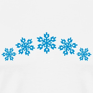 5 Ice Stars, Snowflake, Winter sports, winner, ski T-Shirts - Men's Premium T-Shirt