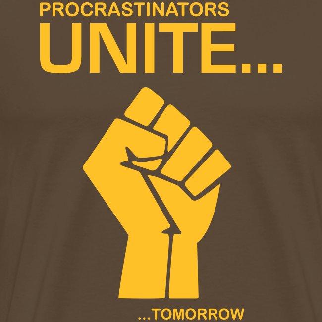 Procratinators Unite