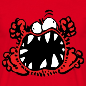Angry Little Cartoon Monster by Cheerful Madness!! T-Shirts - Men's T-Shirt