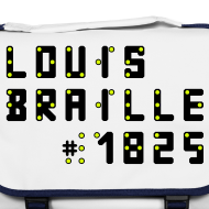 Motiv ~ Louis Braille 1825 - Tasche