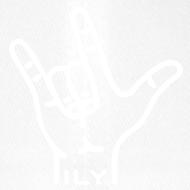 Motiv ~ Fingerzeichen ILY - Basecap