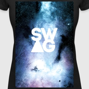 SWAG UNIVERSE T-Shirts - Women's V-Neck T-Shirt