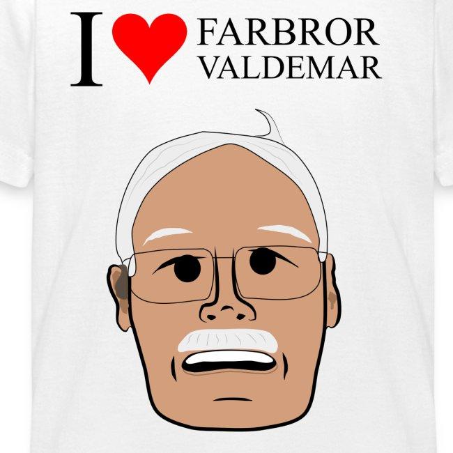 I love Valdemar hoddie