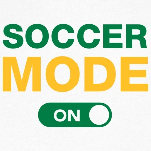 Soccer Mode (On) Tee shirts - T-shirt Homme col V