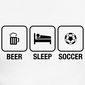 Beer, Sleep, Soccer Long sleeve shirts - Men's Long Sleeve Baseball T-Shirt