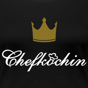 Chefköchin Kitchenqueen Queen of the kitchen - Frauen Premium T-Shirt