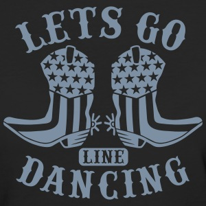 LETS GO LINE DANCING T-Shirts - Frauen Bio-T-Shirt