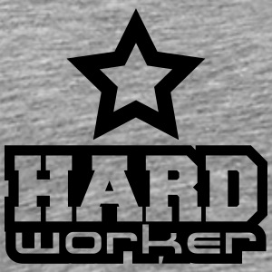 Hard Worker Star T-shirts - Premium-T-shirt herr