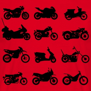 Motorcycles types  T-Shirts - Men's T-Shirt