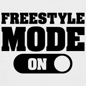 Freestyle Mode (On) T-shirts - Mannen baseballshirt korte mouw