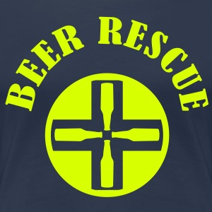 beer rescue 1 Tee shirts - T-shirt Premium Femme