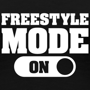 Freestyle Mode (On) T-Shirts - Frauen Premium T-Shirt