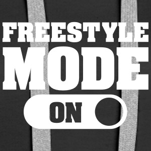 Freestyle Mode (On) Hoodies & Sweatshirts - Women's Premium Hoodie
