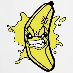 Angry Banana Cooking Apron - Kokkeforkle