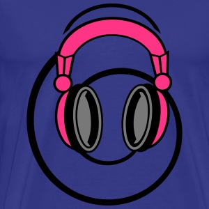 Headphones T-shirts - Mannen Premium T-shirt