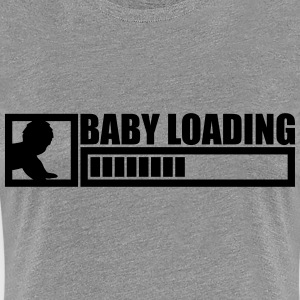 Baby Is Loading Boy T-skjorter - Premium T-skjorte for kvinner