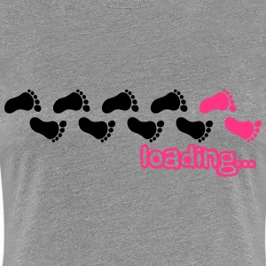 Loading Baby Girl Design T-Shirts - Women's Premium T-Shirt