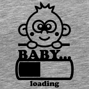 Baby Loading Bar T-Shirts - Men's Premium T-Shirt