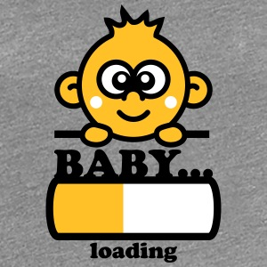 Baby Loading Design T-Shirts - Frauen Premium T-Shirt