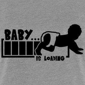 Baby Is Loading T-shirts - Vrouwen Premium T-shirt