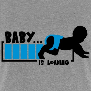 Baby Is Loading Boy T-shirts - Vrouwen Premium T-shirt