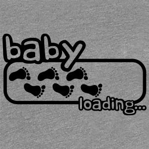 Baby Boy Is Loading Logo Tee shirts - T-shirt Premium Femme