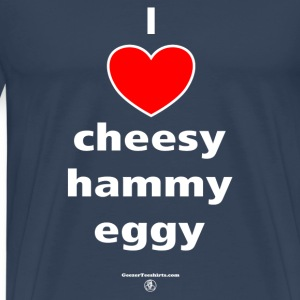 Cheesy hammy 1 T-Shirts - Men's Premium T-Shirt