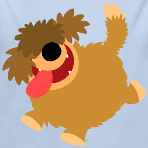 Big Hairy Cartoon Dog by Cheerful Madness!!