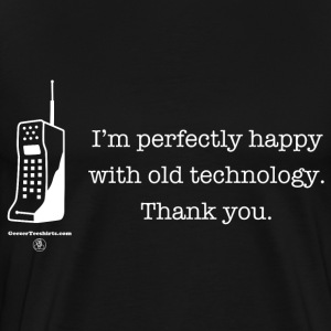 Old technology T-Shirts - Men's Premium T-Shirt
