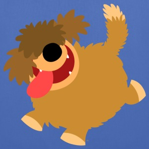 Big Hairy Cartoon Dog by Cheerful Madness!! Bags & backpacks - Tote Bag