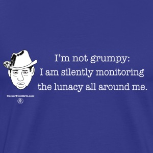 Silently monitoring T-Shirts - Men's Premium T-Shirt