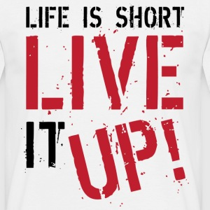 Live It Up T-shirts - Herre-T-shirt