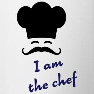 I am the chef Bottles & Mugs - Contrasting Mug