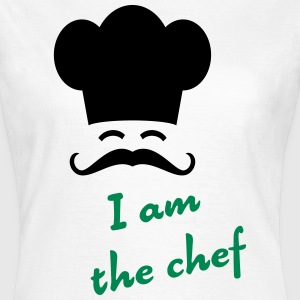I am the chef T-shirts - Dame-T-shirt